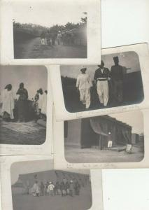 Lot 5 real photo postcards French West Africa ( AOF ) Sudan colonial Africa rare