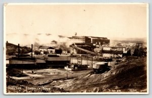 Isabella TN~Tennessee Copper Company Smelter Panorama~Water Tower~1930s RPPC