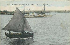 French Africa Dakar Senegal Rade et Goeland sailing boat ship vessel navigation