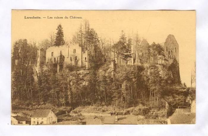 Les Ruines Du Chateau, Larochette, Luxembourg, 1900-1910s