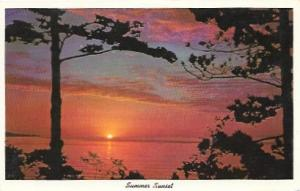Summer Sunset, Somewhere, USA.