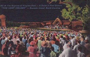The Baptism Of Virginia Dare A Scene In Paul Greens The Lost Colony Roanoke I...