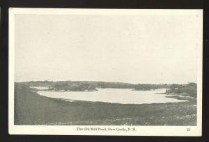 New Castle, New Hampshire/NH Postcard, The Old Mill Pond