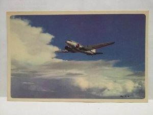 Flagship postcard American Airlines A Flagship Trip Volando Por la Ruta de los
