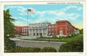 Shortridge High School, Indianapolis, Indiana, 1910-20s
