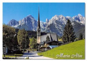 Maria Alm Malerisches Salzburger Land Kirche Church Mountain