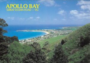 Australia Apollo Bay Great Ocean Road Victoria Panoram of Apollo Bay