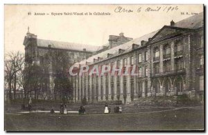 Arras - Saint Waast Square and the Cathedral - Old Postcard