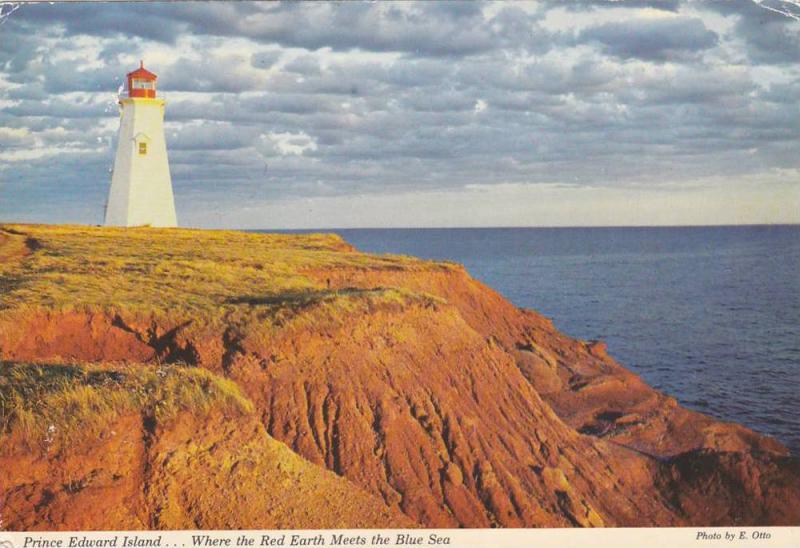 Seacow Head Lighthouse , South Shore , P.E.I. , Canada , PU-1974