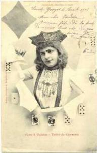 Playing cards  (Les 4 Valets) - Valet de Carreau, PU-1903