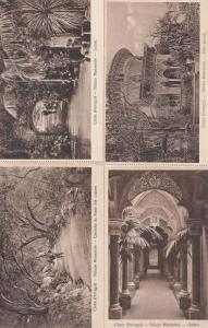 Madeira Portugal Palacio Monserrate Gardens 4x Postcard s