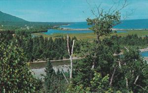 Canada Nova Scotia Cape Breton Indian Brook Looking North On The East Coast O...
