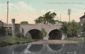 STRATFORD , Ontario , Canada , 1909 ; The Stone Bridge
