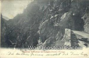 Bundner Oberland Swizerland, Schweiz, Svizzera, Suisse Medelser Schluchten be...