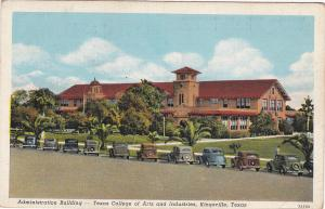KINGSVILLE, Texas, 1937; Administration Building, Texas College Of Arts And Tech