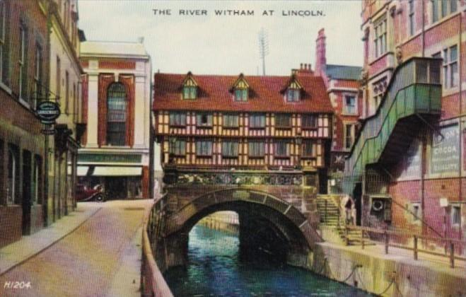 England Lincoln The River Witham