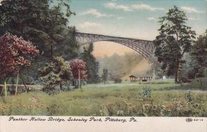 Pennslyvania Pittsburg Panther Hollow Bridge Schenley Park