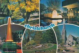New Zealand Christchurch Multi View