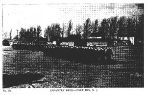 New Jersey Fort Dix  Infantry Drill