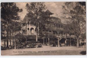 Meriwether Inn, Warm Springs GA
