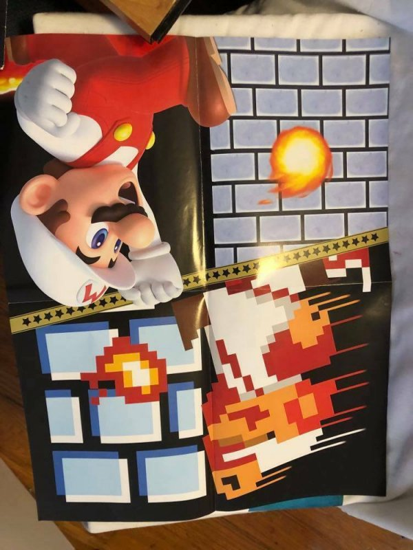 Lot of Vintage Nintendo Posters, Promos, Book