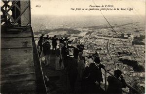 CPA AK PARIS 7e La Tour Eiffel. Quatriere Plateforme (479360)