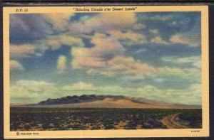 Alluring Clouds o'er Desert Lands