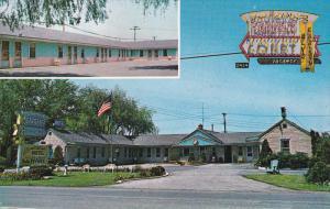 2-Views, Boulevard Gardens Motel Court, Town Of TONAWANDA, New York, 1940-1960s