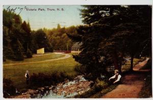 1907 Truro NOVA SCOTIA Postcard Victoria Park CANADA