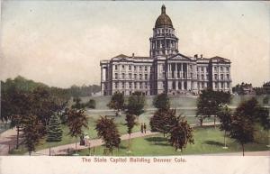 The State Capitol Building Denver Colorado