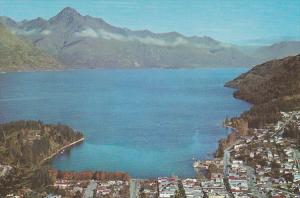 New Zealand Queenstown Aerial View