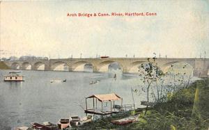 10570 Arch Bridge & Conn. River, Hartford, Conn.