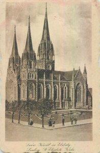 Postcard Ukraine Lvov cathedral