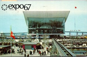 Canada Montreal Expo67 Pavilion Of The Soviet Union 1967