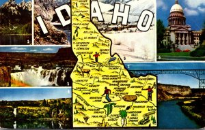Idaho Multi View With Map