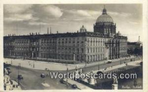 Berlin Germany, Deutschland Postcard Schlob  Schlob