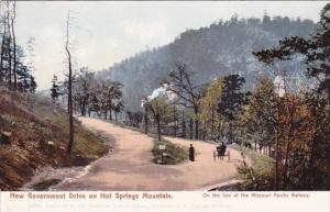 New Government Drive On Hot Springs Mountain Akansas