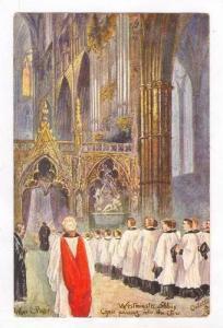 ARTHUR C. PAYNE, Interior, Westminster Abbey, Choir, England, 00-10s