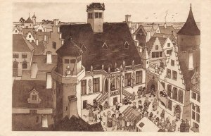 LP56   Chicago World's Fair Picturesque Belgium Postcard Old City Damme