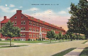 FORT BRAGG, North Carolina, PU-1941; Barracks