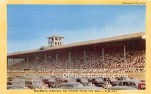 Postcard Granstand, Allentown Fair Grounds during Fair Week Unused