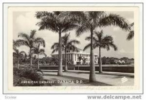 RP: American Embassy, Panama, 1950s