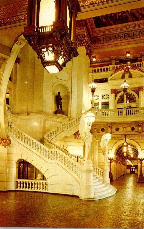 Pennsylvania Harrisburg State Capitol Building The Rotunda