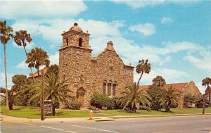 DAYTONA BEACH FLORIDA SEABREEZE UNITED CHURCH~THE TOURIST CHURCH POSTCARD c1960s