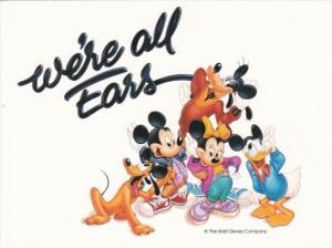 We're All Ears The Walt Disney Company