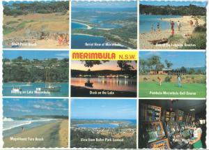 Australia, Merimbula, New South Wales, used Postcard