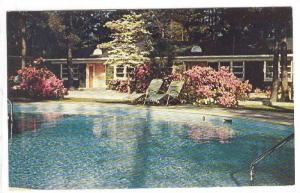 Swimming Pool, Forest Motel and Restaurant, Columbia, South Carolina, 40-60s