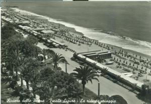 Italy, Riviera delle Palma, Finale Ligure The Cheerful Beach