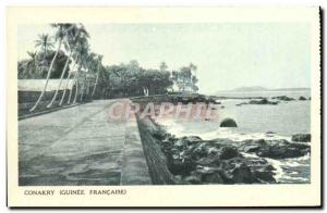 Old Postcard Conakry Guinea