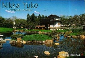 CPM AK Nikka Yuko Japanese Garden Lethbridge Alberta Canada JAPAN (677823)
